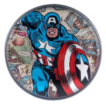 Captain America Metal Drawer Knob